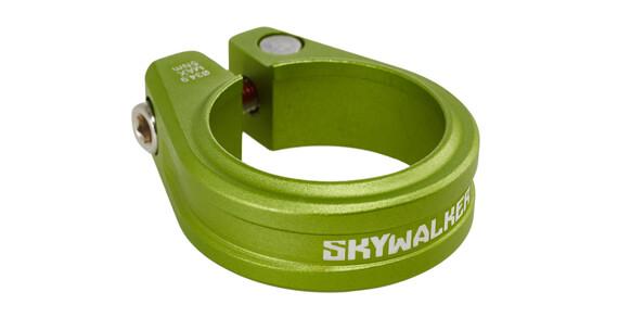 Sixpack Skywalker Sattelklemme 34,9 mm electric-green